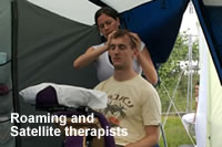 Satellite therapists